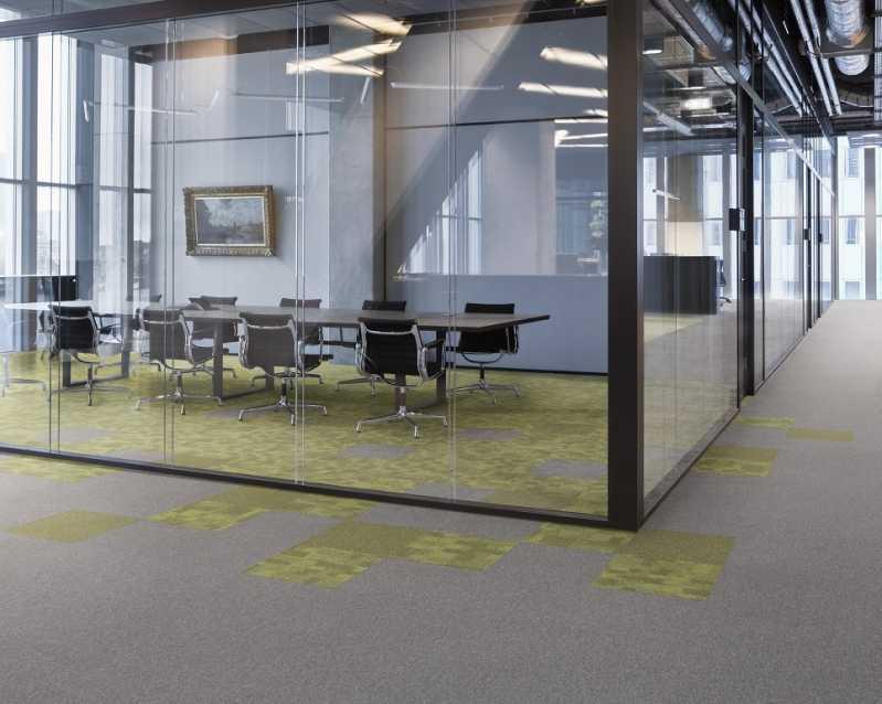 Orçamento Placa de Carpete para Escritório Franca - Carpete Placa Piso
