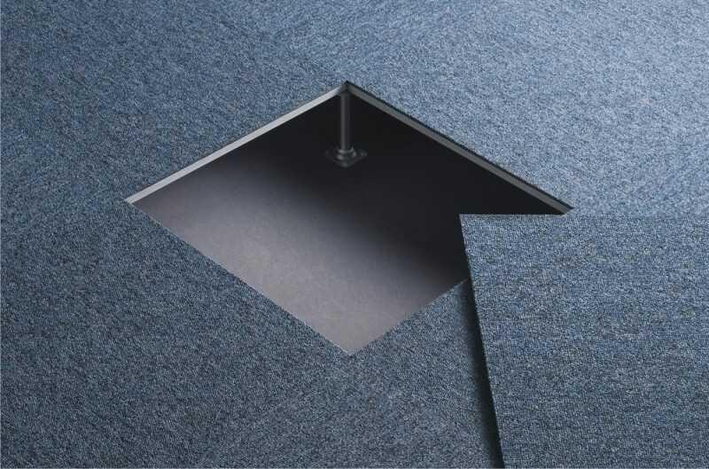 Placas de Carpetes para Pisos Elevado ABCD - Carpete Placa Piso