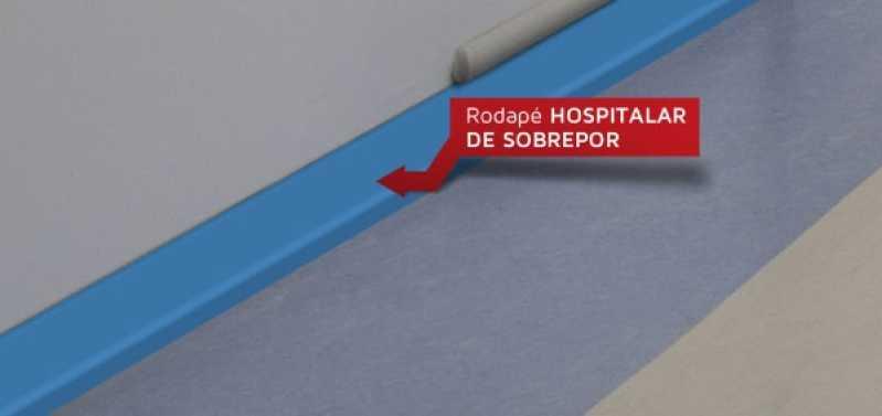 Rodapé de Vinílico Branco Rio Grande da Serra - Rodapé Tipo Vinílico