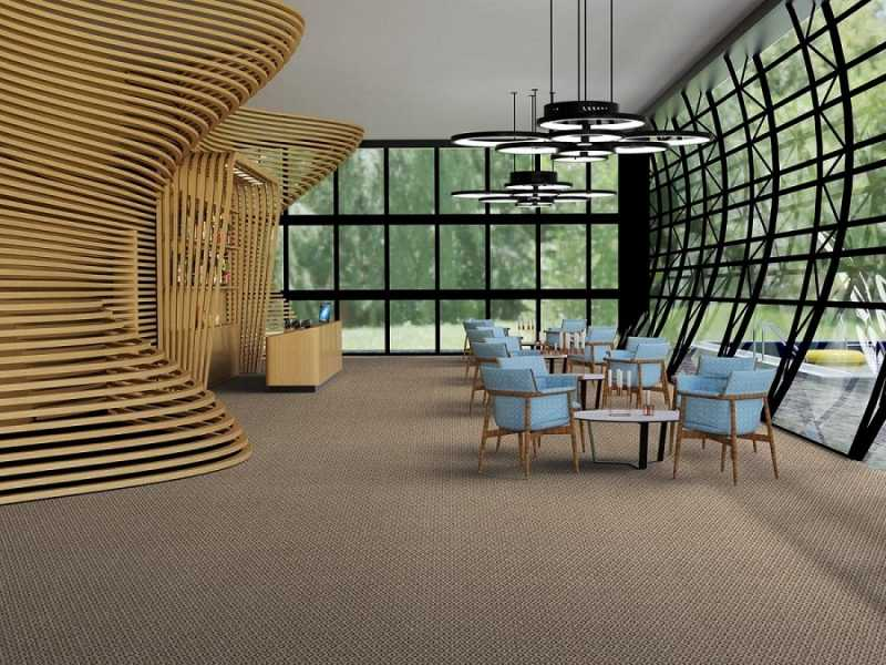Rolo de Carpete Forração Vinhedo - Rolo de Carpete