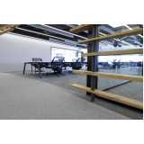 placa de carpete para escritório