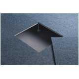 placas de carpete para piso elevado