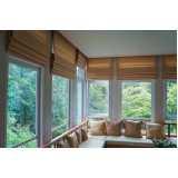 cortina para janela de sala Atibaia