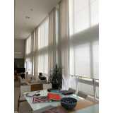 cortina para sala grande preço Itatiba