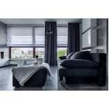 cortina para sala moderna Cubatão