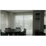 cortina persiana para sala preço Rio Claro