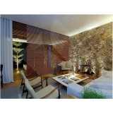 fábrica de persiana horizontal de madeira sintética Bela Vista