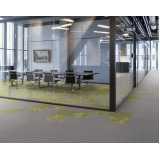 orçamento placa de carpete para escritório Itu