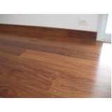 piso de assoalho de madeira Cubatão
