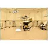 piso vinílico em manta hospitalar Aclimação