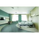 piso vinílico em manta para hospital sob medida Campinas