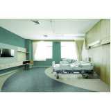 piso vinílico em manta para hospital sob medida Marília