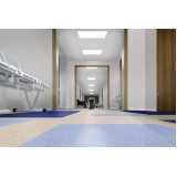 piso vinílico para ambiente hospitalar sob medida Litoral
