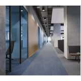 pisos de carpetes em placa Queluz