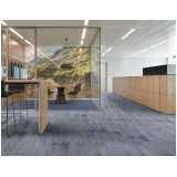 venda de piso de carpete em placa Cerqueira César