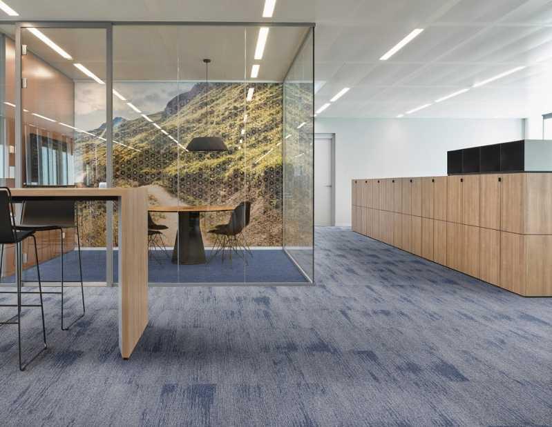 Venda de Carpete Tipo Placa Zona Oeste - Carpete Placa Piso