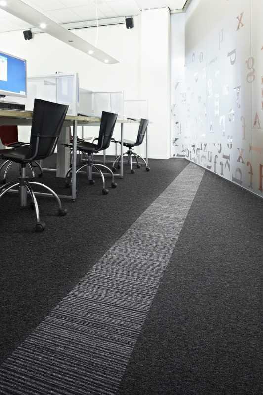 Venda de Placa de Carpete para Escritório Alumínio - Carpete Placa Piso